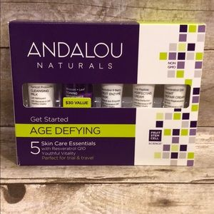 ANDALOU Naturals Get started  Age Defying Kit NEW